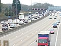 Bunching on the M25 - geograph.org.uk - 1089018.jpg