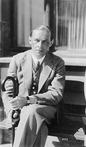 Erich Maria Remarque - Remarque in Davos, 1929.