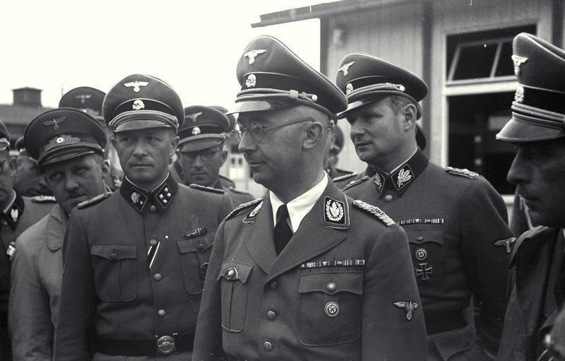Bundesarchiv Bild 192-111, KZ Mauthausen, Besuch Heinrich Himmler