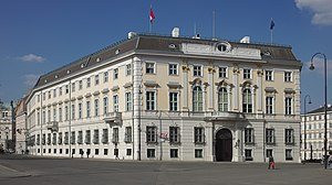 Foreign Ministry of Austria-Hungary - Former Foreign Ministry on Ballhausplatz