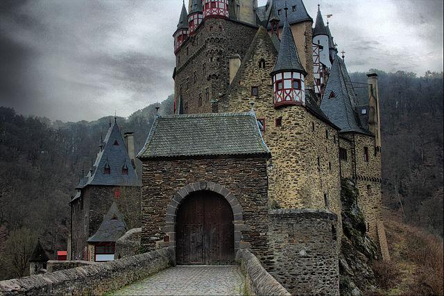 El castillo de Eltz, estado federado de Renania-Palatinado, Alemania.