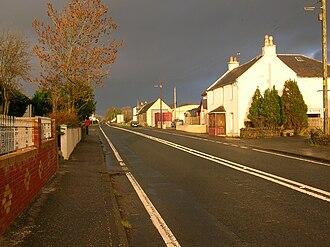 Burnhouse - Image: Burnhouse village in Ayrshire