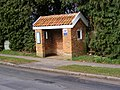 Bus Shelter on B1119 Church Hill, Saxmundham - geograph.org.uk - 1193373.jpg