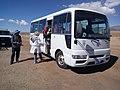Bus to Tiwanaku (Bolivia) (36797129561).jpg