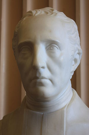 Thomas Campbell (sculptor) - Bust of Robert Blair by Thomas Campbell, 1815, Old College, University of Edinburgh