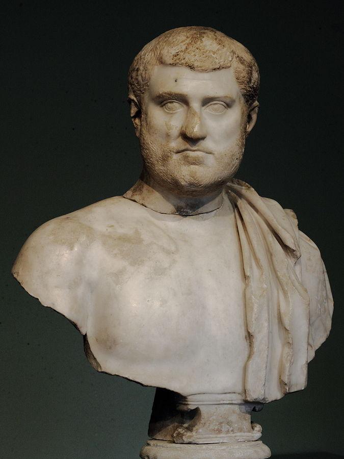 Buste d'homme héroïsé Ra 123