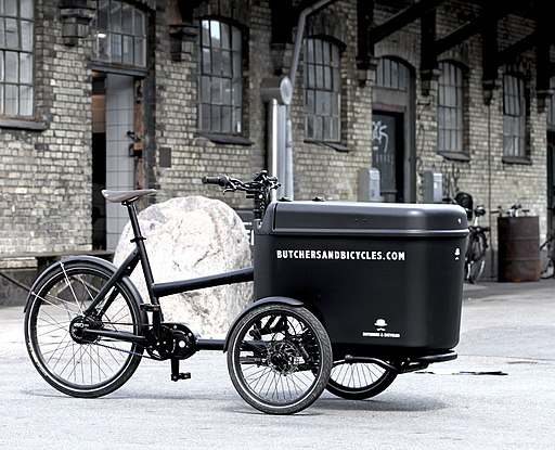 Butchers & Bicycles, Mk1-E, PRO - Black