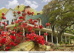 Butler Greenwood Plantation - The plantation's gardens
