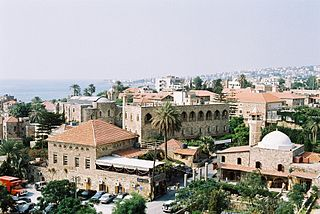 Byblos City in Mount Lebanon