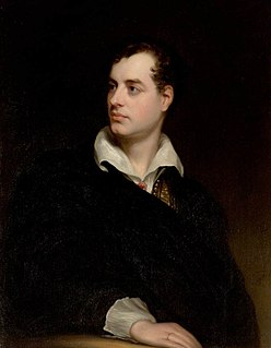 Lord Byron English poet and a leading figure in the Romantic movement