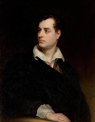 "Historical figure - Lord Byron (1788–1824). Thomas Carlyle saw the study of great poets such as Byron as potentially ""the most dignified and valuable species of composition"""