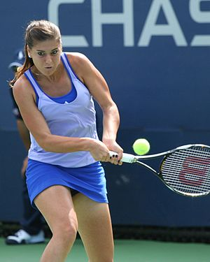 Sorana Cîrstea - Cîrstea at the 2009 US Open