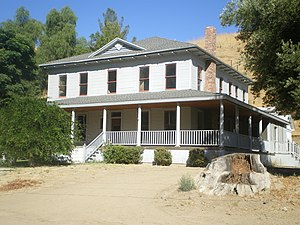 Mentryville, California - C.A. Mentry House in 2008