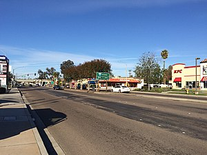 California State Route 54 - The intersection of former SR 54 with I-8