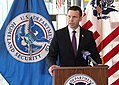 CBP Acting Commissioner Kevin K. McAleenan conducts JFK press confgerence (40247636791).jpg