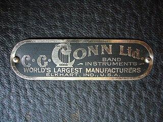 C.G. Conn manufacturer of musical instruments