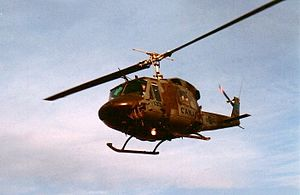 Bell UH-1N Twin Huey - Canadian CH-135 Twin Huey serving with 408 Tactical Helicopter Squadron, 1985