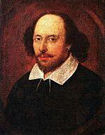William Shakespeare, ritratto Chandos
