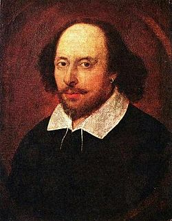 Porträt William Shakespeare.