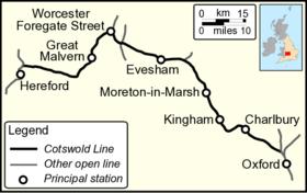Cotswold Line Wikipedia