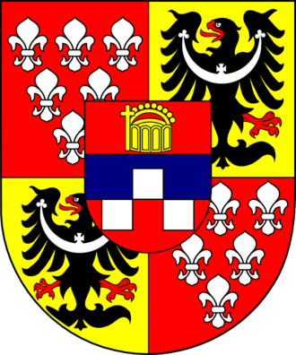 Philipp Ludwig von Sinzendorf - Coat of arms of Cardinal Philipp Ludwig von Sinzendorf