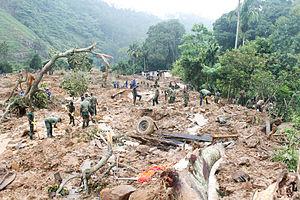 2014 Badulla landslide - Aftermath of the landslide