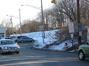 County Route 507 (New Jersey) - CR 507's first southbound reassurance shield after its intersection with US 202 just mere feet south of the NY/NJ state line