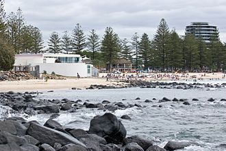 Burleigh Heads, Queensland - Burleigh Heads beach, 2008