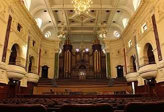 Cape Town City Hall - Auditorium with Organ