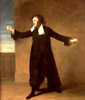 Samuel Foote - Charles Macklin as Shylock by Johann Zoffany.