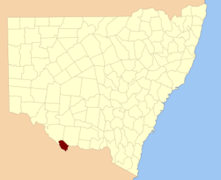 Cadell County Cadastral in New South Wales, Australia