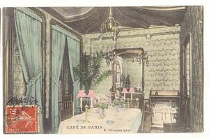 Louis Majorelle - Salon du Café de Paris designed by Louis Majorelle in 1898
