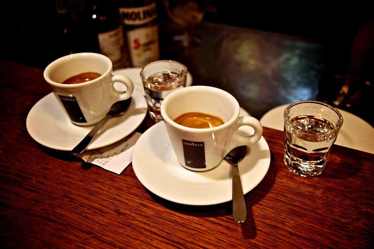 Resultado de imagen de Caffè corretto