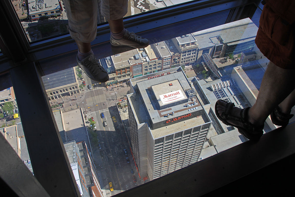 File Calgary Tower Calgary Alberta Canada Glass Floor
