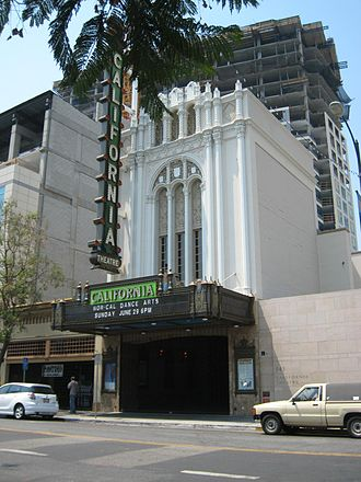 IPad (4th generation) - The California Theatre, where the fourth-generation iPad was announced on October 23, 2012.