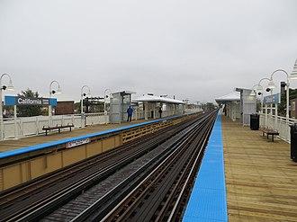 California station (CTA Blue Line) - Image: California station 2014