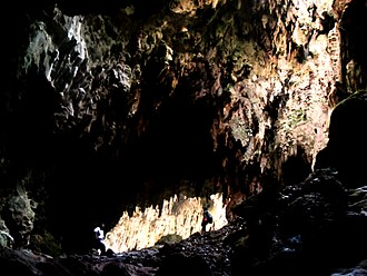 Peñablanca, Cagayan - The fifth chamber of the Callao Cave, part of the Callao Limestone Formation Paleolithic Archaeological Site