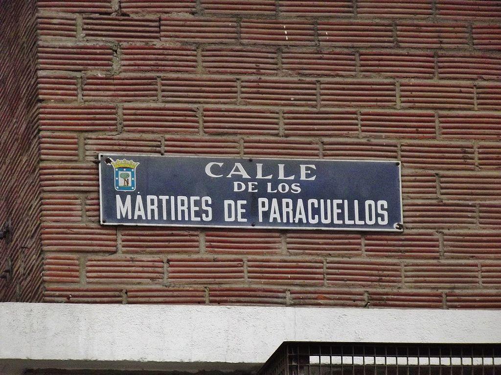 Archivo calle de los m rtires de paracuellos - H m calle orense madrid ...