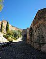 Camí cap al castell menor, Xàtiva.JPG