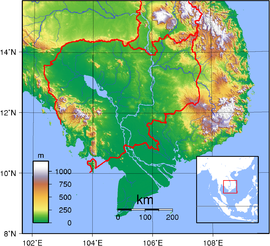Geography of cambodia wikipedia geography of cambodia gumiabroncs Images