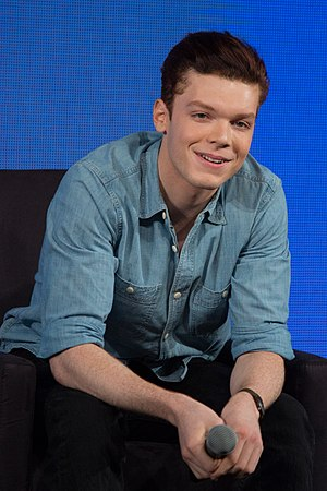 Cameron Monaghan - Monaghan at a press event in 2014