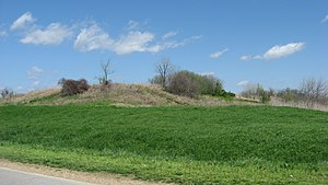 National Register of Historic Places listings in Pemiscot County, Missouri - Image: Campbell Site platform mound