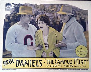 <i>The Campus Flirt</i> 1926 film by Clarence G. Badger