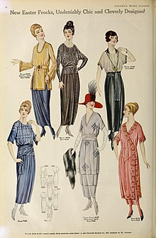 1920s In Western Fashion Wikipedia