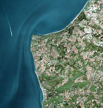 Cap Gris-Nez - Cap Gris-Nez seen from Spot Satellite