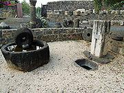 Capernaum roman olive press by David Shankbone