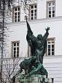 Capistrano statue, Kapisztrán tér, Budapest.jpg