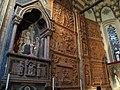 Cappella pellegrini, tomba pellegrini con affr. attr. ad altichiero e terrecotte di michele da firenze.JPG