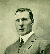 Head and shoulders photograph of Bartlett facing half-left. Age about 35, he has a formal military bearing and is very neatly dressed.