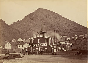 Comstock Lode - Bullion Mine, Virginia City, c.1875-77
